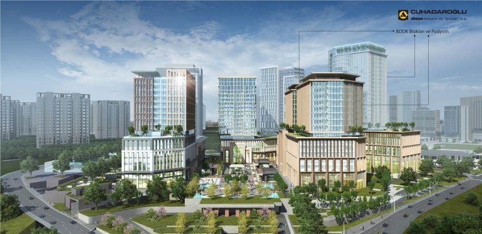İstanbul Uluslararası Finans Merkezi BDDK Blokları
