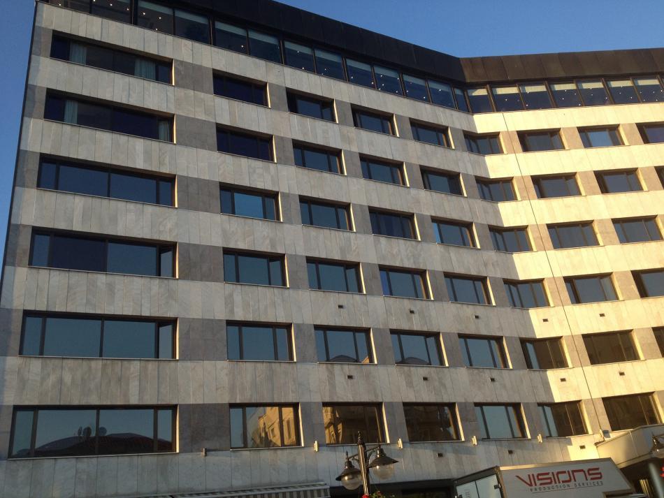 Parksa Hilton Oteli Cephe Yenilemesi