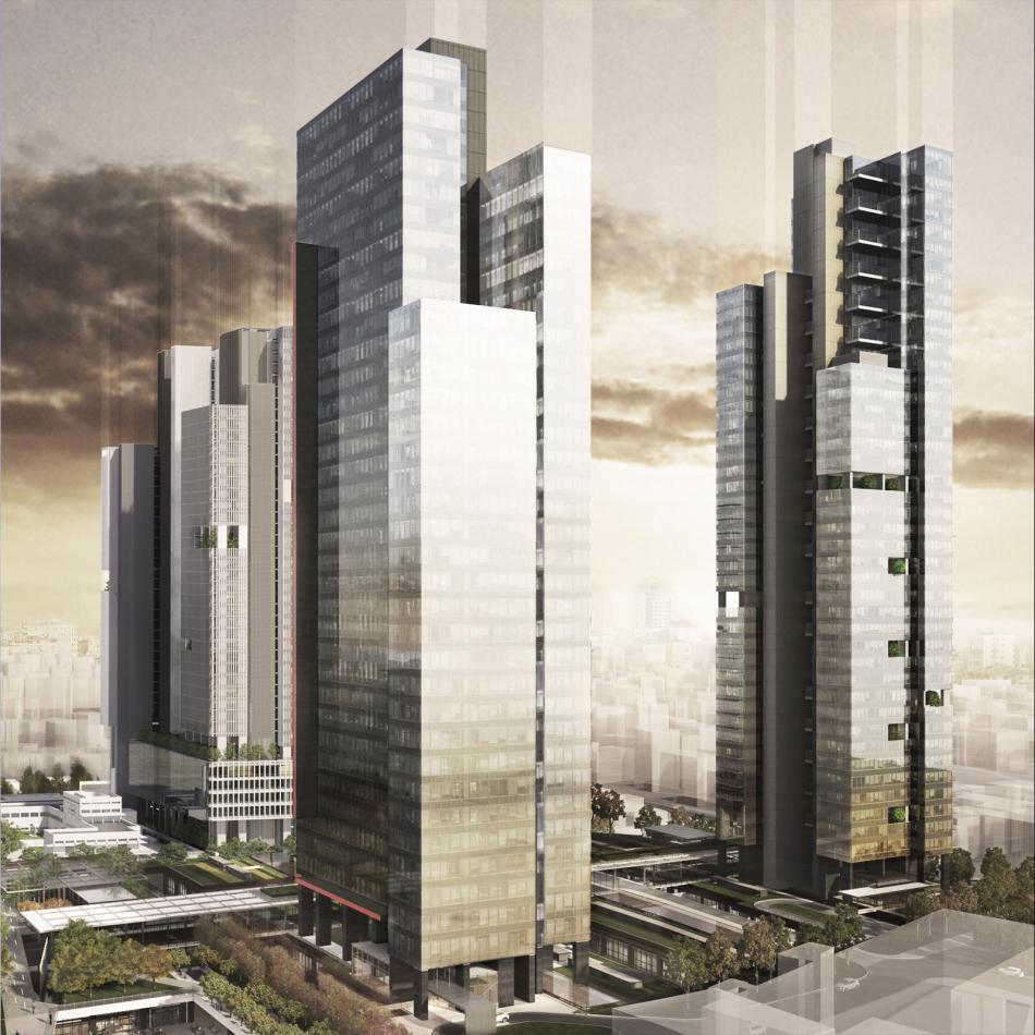 Torun Center Ofis Bloğu - Yatay Ofisler